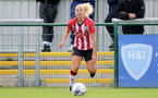 SOUTHAMPTON, ENGLAND - OCTOBER 03: Shelly Provan of Southampton during the FA National League Southern Premier match between Southampton Women and Keynsham Town at The Snows Stadium on October 03, 2021 in Southampton, England. (Photo by Isabelle Field/Southampton FC via Getty Images)