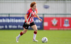 SOUTHAMPTON, ENGLAND - OCTOBER 03: Molly Mott of Southampton during the FA National League Southern Premier match between Southampton Women and Keynsham Town at The Snows Stadium on October 03, 2021 in Southampton, England. (Photo by Isabelle Field/Southampton FC via Getty Images)