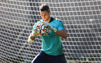 SOUTHAMPTON, ENGLAND - OCTOBER 05: Alex McCarthy during a Southampton FC training session at the Staplewood Campus on October 05, 2021 in Southampton, England. (Photo by Matt Watson/Southampton FC via Getty Images)