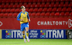 LONDON, ENGLAND - OCTOBER 06: Dominic Ballard of Southampton during the Papa John's Trophy match between Charlton Athletic and Southampton B Team at The Valley on October 06, 2021 in London, England. (Photo by Isabelle Field/Southampton FC via Getty Images)