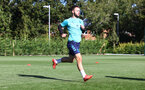 SOUTHAMPTON, ENGLAND - OCTOBER 06: Adam Armstrong during a Southampton FC training session at the Staplewood Campus on October 06, 2021 in Southampton, England. (Photo by Matt Watson/Southampton FC via Getty Images)