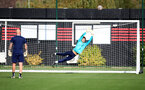 SOUTHAMPTON, ENGLAND - OCTOBER 11: Matt Hall during Southampton B Team training at Staplewood Training Ground on October 11, 2021 in Southampton, England. (Photo by Isabelle Field/Southampton FC via Getty Images)