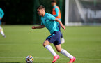 SOUTHAMPTON, ENGLAND - OCTOBER 11: Jack Turner during Southampton B Team training at Staplewood Training Ground on October 11, 2021 in Southampton, England. (Photo by Isabelle Field/Southampton FC via Getty Images)