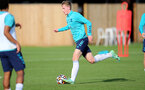 SOUTHAMPTON, ENGLAND - OCTOBER 11: Ryan Finnagan during Southampton B Team training at Staplewood Training Ground on October 11, 2021 in Southampton, England. (Photo by Isabelle Field/Southampton FC via Getty Images)