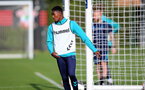 SOUTHAMPTON, ENGLAND - OCTOBER 11: Remello Mitchell during Southampton B Team training at Staplewood Training Ground on October 11, 2021 in Southampton, England. (Photo by Isabelle Field/Southampton FC via Getty Images)